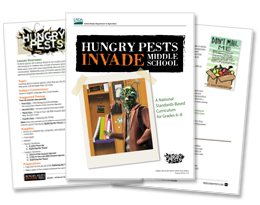 Hungry Pests Invade Middle School