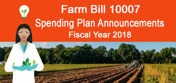 Fiscal Year 2018 Farm Bill Spending Plan