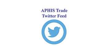 APHIS Trade Twitter