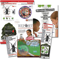 USDA Launches New Asian Longhorned Beetle Science Curriculum
