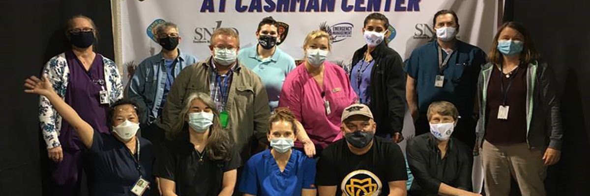 APHIS employees assist with COVID vaccination efforts