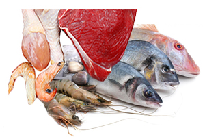 Meat, Poultry, and Seafood