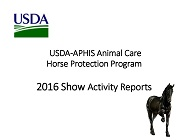 HPA Activity Reports