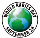 graphic for world rabies day