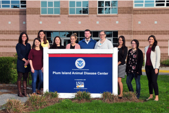 1st NSTP cohort at the NSTP kick-off event at Plum Island Animal Disease Center, Fall 2018.