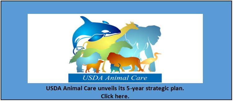 USDA Animal Care unveils its 5-year strategic plan. Click here.