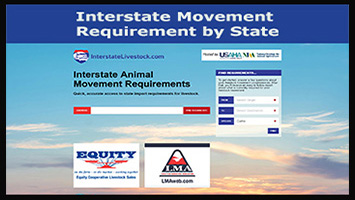 Interstate Animal Movement Requirements