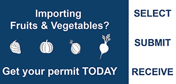 Get your Fruits and Vegetables Permit Today